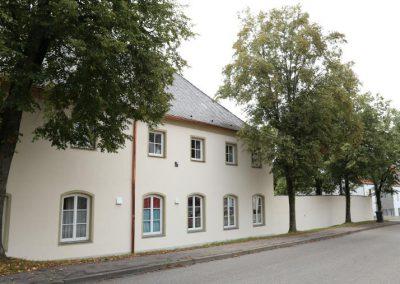 Saniertes Gebäude durch den Fachbetrieb Krug Sanierung GmbH & Co. KG