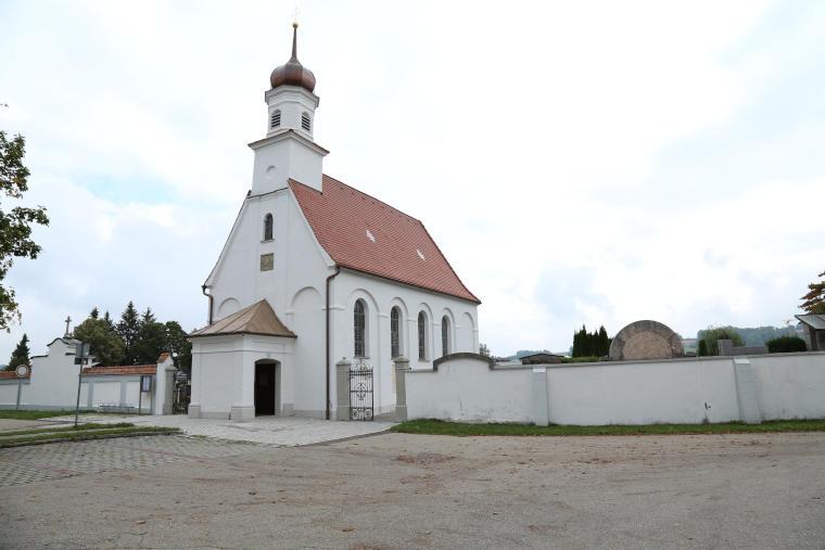 Sanierte Kirche durch den Fachbetrieb Krug Sanierung GmbH & Co. KG